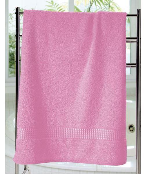 Imagem de Toalha de Banho 70cm x 140cm - Prisma Liso - Rosa