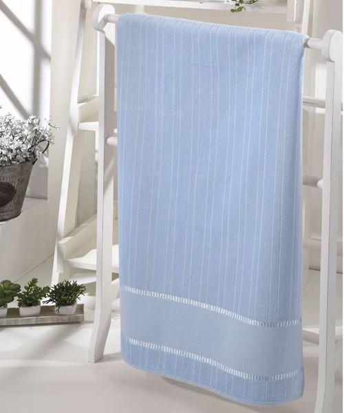 Imagem de Toalha de Banho 70cm x 140cm - Bella - Azul