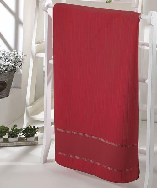 Imagem de Toalha de Banho 70cm x 140cm - Bella - Vermelha