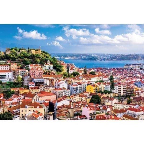 Imagem de Quebra-Cabeça Paisagens 1000 Peças - Portugal
