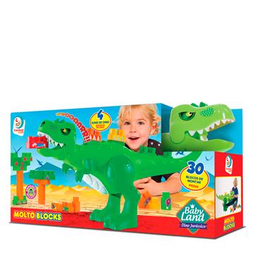 Imagem de Baby Land Dino Jurássico - Cardoso Toys