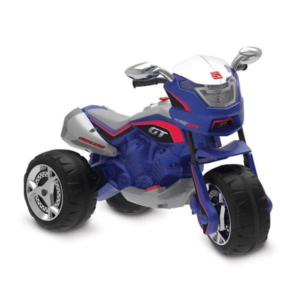 Imagem de Super Moto Turbo Elétrica 12V - Azul