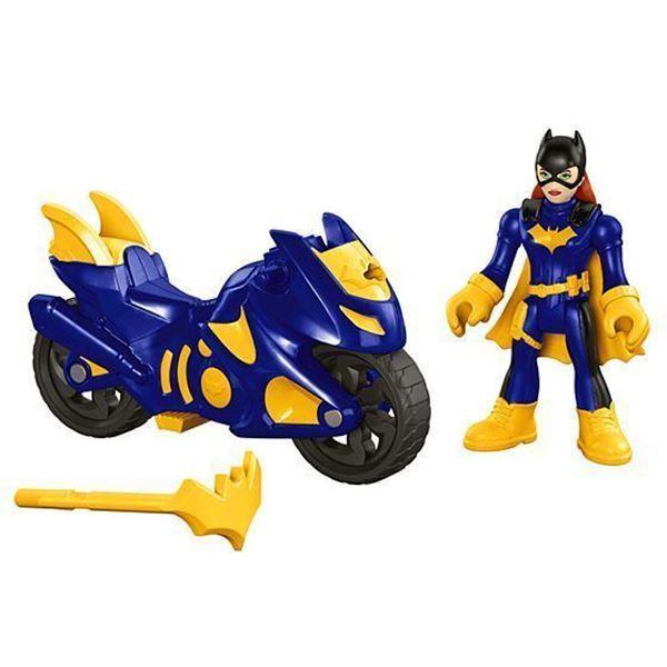 Imagem de Imaginext DC Super Friends - Batgirl e Moto