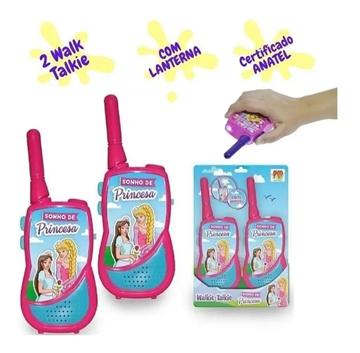 Imagem de Walkie Talkie Sonho de Princesa - DM Toys