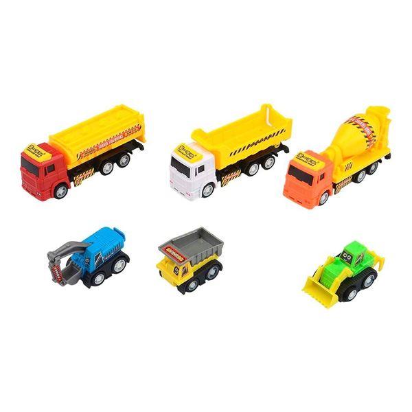 Imagem de Mini Veículos Fricção - Construção - DM Toys