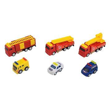 Imagem de Mini Veículos Fricção - Operação Resgate - DM Toys