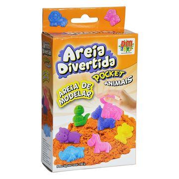 Imagem de Areia Divertida - Pocket Animais - DM toys