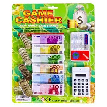 Imagem de Banco Divertido com Calculadora e Cartão