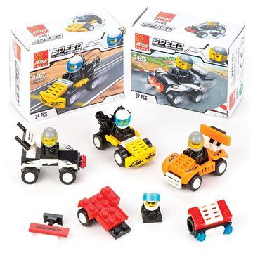 Imagem de Blocos para Montar - Speed Champions - Peizhi