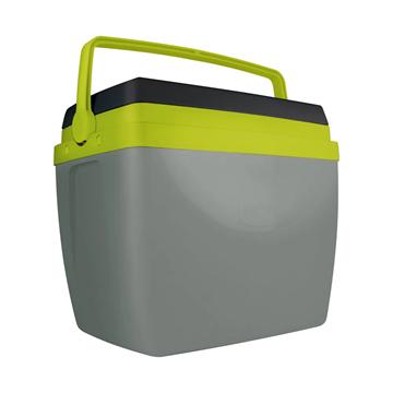 Imagem de Caixa Térmica 34 Litros - Cinza com Verde