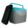 Imagem de Caixa Térmica 34 Litros - Cinza com Azul
