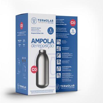 Imagem de Ampola de Reposição C0 para Garrafa Térmica 1 Litro - Termolar