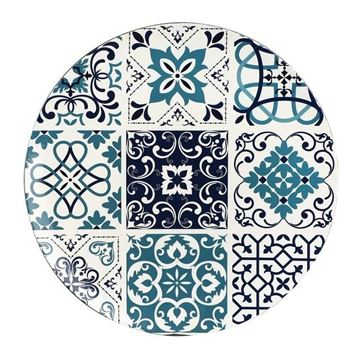 Imagem de Sousplat Azulejo 33cm Unidade - L'Hermitage