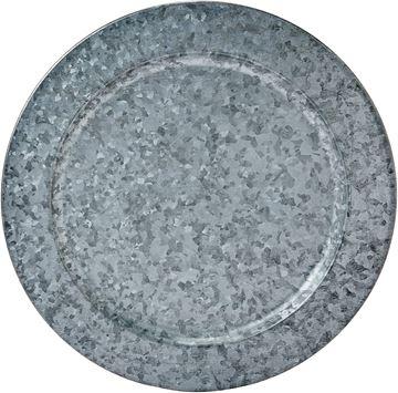 Imagem de Sousplat em Ferro Galvanizado 33cm Unidade - Dynasty