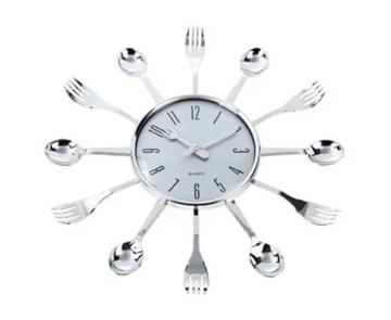 Imagem de Relógio de Parede Talheres 37cm - Yin's