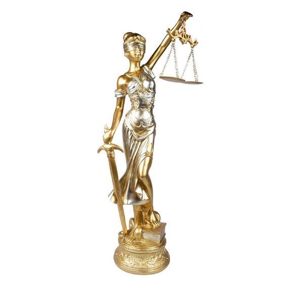 Imagem de Dama da Justiça - 20cm