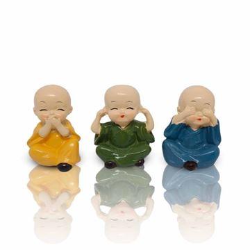 Imagem de Buda Decorativo Trio - Tokyo Design