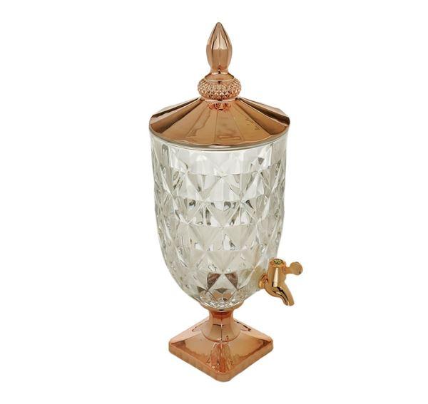 Imagem de Suqueira de Cristal Diamond Rose Golden 5L - Lyor