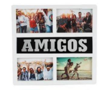 Imagem de Painel Porta Retrato Amigos - 4 Fotos