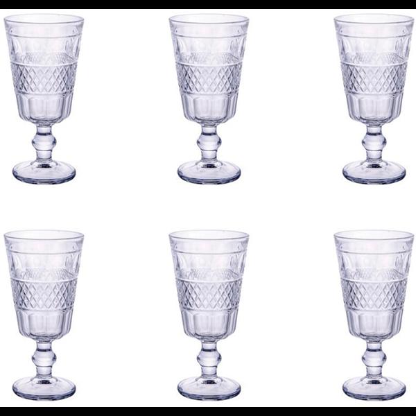Imagem de Jogo de Taças Geometric 250ml - 6 Peças - Bon Gourmet Fcmpo