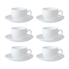 Imagem de Jogo de Xícaras para Chá Opaline 200ml - 12 Peças - Amigold