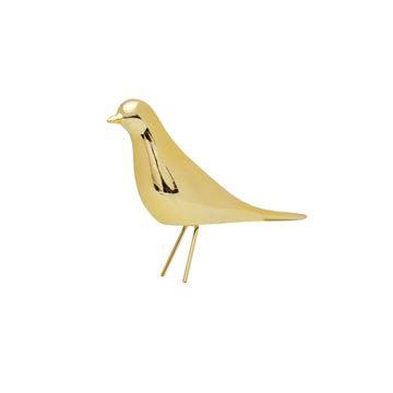 Imagem de Pássaro com Pé Ouro - 14,5 x 15,5cm