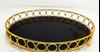Imagem de Bandeja Espelhada Oval - Pequena 30 x 20,5cm