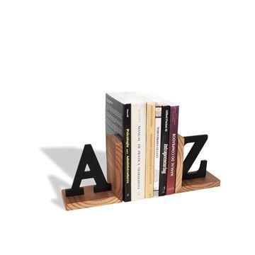 Imagem de Aparador de Livros AZ Madeira - Geguton