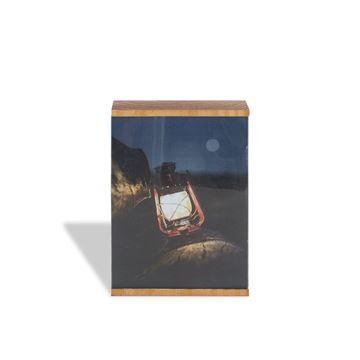 Imagem de Porta Retrato Box Madeira - 13 x 18cm - Geguton