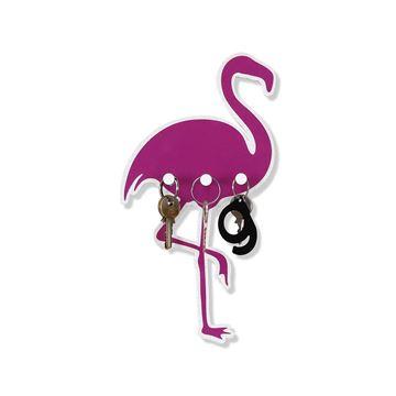 Imagem de Porta Chaves Flamingo - Geguton