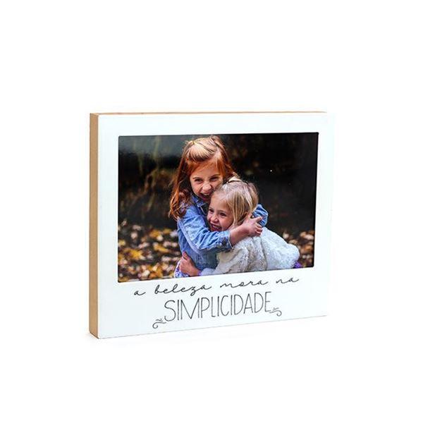 Imagem de Porta Retrato Simplicidade - 10 x 15cm - Geguton