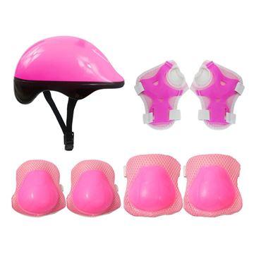 Imagem de Kit de Proteção Plus Infantil - Rosa - DM Toys