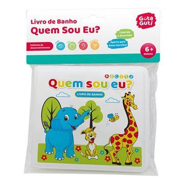 Imagem de Livro de Banho Quem Sou Eu? - DM Toys