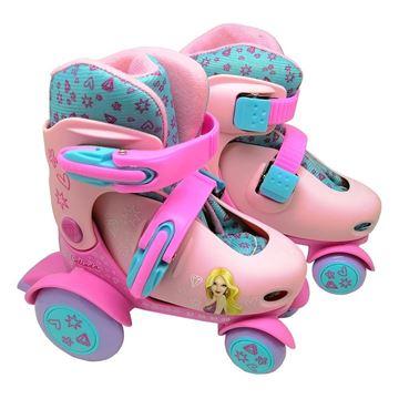 Imagem de Patins Roller Ajustável 27 a 30 - Belinda - DM Toys