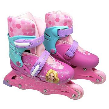 Imagem de Patins Inline Ajustável 31 a 34 - Belinda - DM Toys