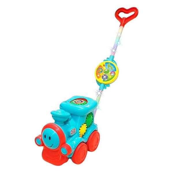 Imagem de Empurra Baby Musical Trem - DM Toys