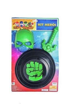 Imagem de Kit Herói Verde - Toymaster
