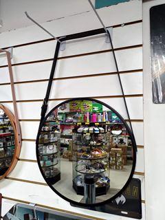 Imagem de Espelho Com Alça Preta