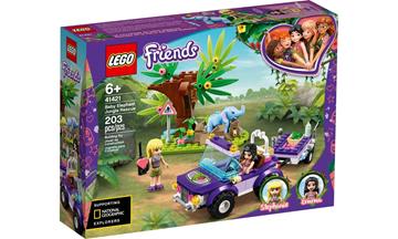 Imagem de LEGO Friends - Resgate na Selva do Filhote de Elefante