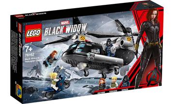 Imagem de LEGO Super Heroes Marvel - Perseguição de Helicóptero da Viúva Negra