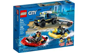 Imagem de LEGO City - Transporte de Barco da Polícia de Elite