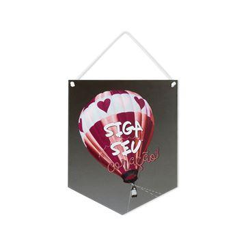 Imagem de Placa Siga seu Coração - Geguton