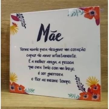 Imagem de Quadro Bloco Cartão Mãe Floral - Geguton
