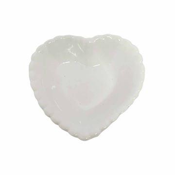 Imagem de Coração de Louça - 4 Peças - Amigold