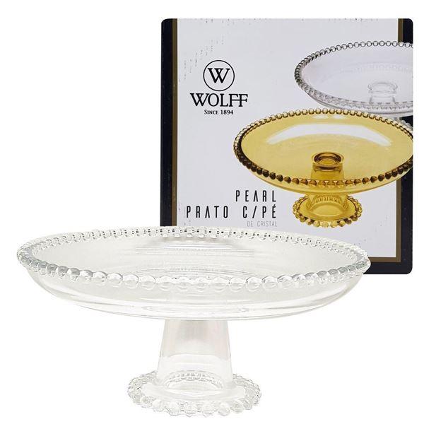 Imagem de Prato com Pé Pearl - 20 x 9cm - Wolff