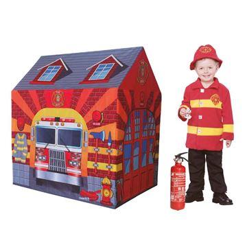 Imagem de Barraca Estação de Bombeiro - DM Toys