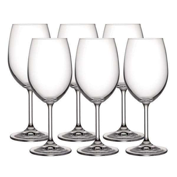 Imagem de Jogo de Taças para Vinho Branco Anna 350ml - 6 Peças - Bohemia Fcmpo