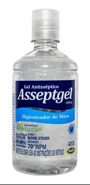 Imagem de Álcool Gel 70% 420g - Asseptgel