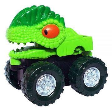 Imagem de Kit Carrinho Dino - 5 Unidades - DM Toys