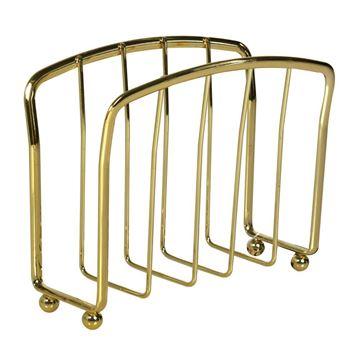 Imagem de Porta Guardanapos de Metal Dourado
